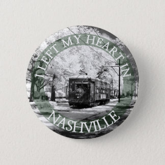 I Left my Heart in Nashville Button