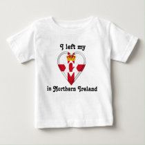 I left my heart in Northern Ireland Baby T-Shirt
