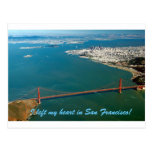 I left my heart in San Francisco Postcard