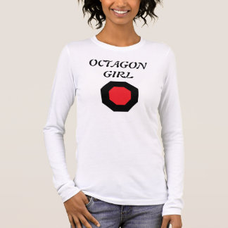 I Left My Heart in the Octagon Long Sleeve T-Shirt