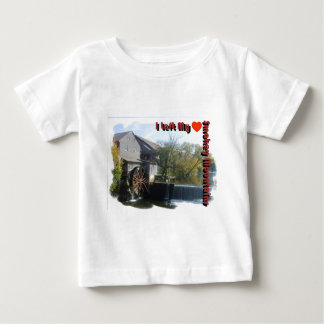 I Left my Heart in the Smokey Mountains Baby T-Shirt