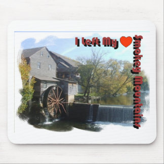 I Left my Heart in the Smokey Mountains Mouse Pad