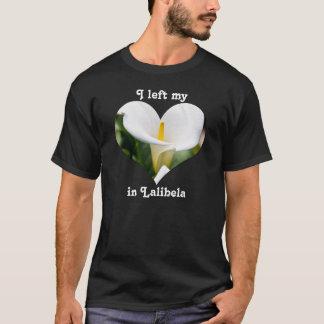 I Left My Heart Lalibela Ethiopia Calla Lily White T-Shirt