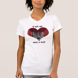 I Left My Heart Near a Torii T-Shirt