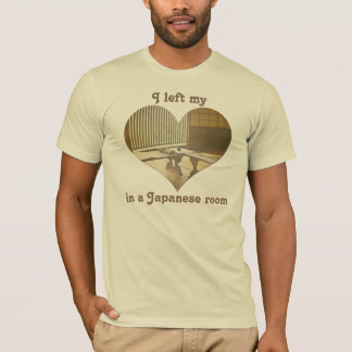 I Left My Heart Traditional Tatami Japanese Room T-Shirt