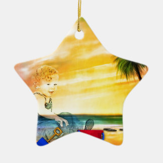 I LEFT MY INNER CHILD AT THE BEACH! CHRISTMAS TREE ORNAMENT