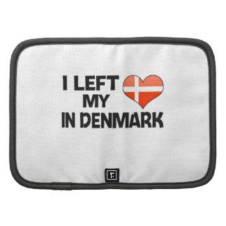 I left my love in Denmark. Planner