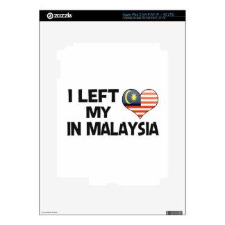 I left my love in Malaysia. iPad 3 Decal