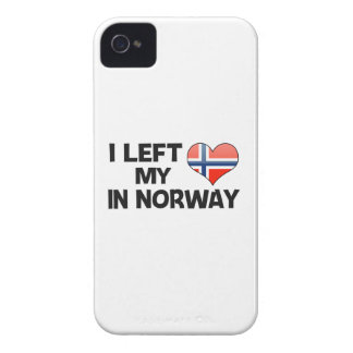 I left my love in Norway. Case-Mate iPhone 4 Cases
