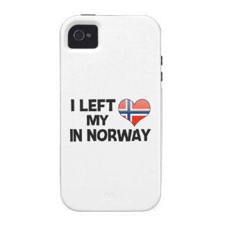 I left my love in Norway. Case-Mate iPhone 4 Covers
