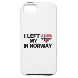 I left my love in Norway. iPhone 5 Covers