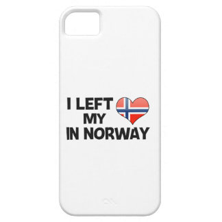 I left my love in Norway. iPhone 5 Cases