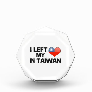 I left my love in Taiwan. Awards