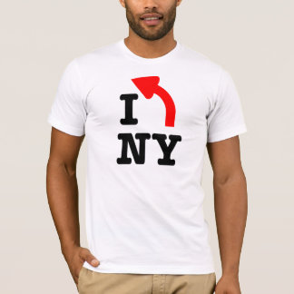 I LEFT New York T-Shirt