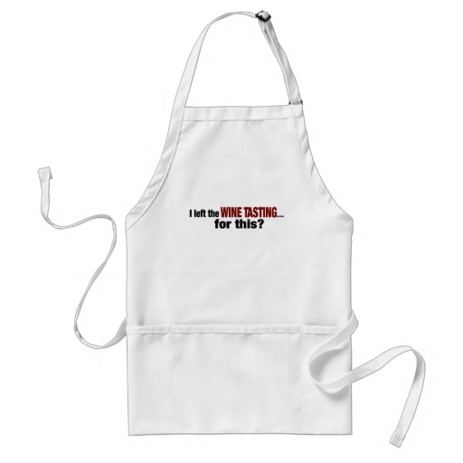 I Left Wine Tasting For This Adult Apron