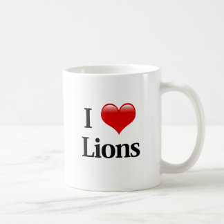 I leones del corazón taza