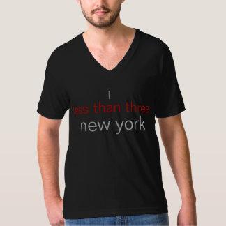 I less than three (<3) new york T-Shirt