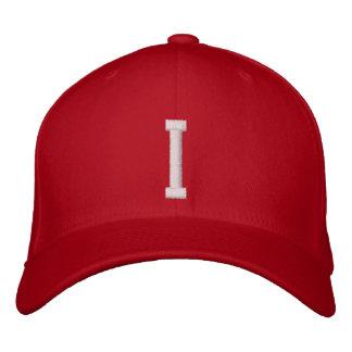 I Letter Embroidered Hat