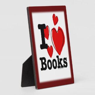¡I libros del corazón ¡Amo los libros Corazón i