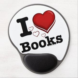¡I libros del corazón! ¡Amo los libros! (Corazón s Alfombrilla Con Gel