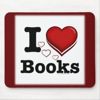 ¡I libros del corazón! ¡Amo los libros! (Corazón s Tapete De Ratones