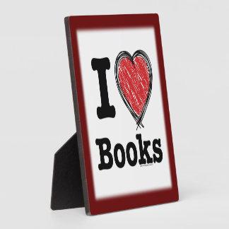 ¡I libros del corazón ¡Amo los libros Garabatea