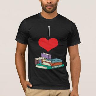 I libros del corazón (amor) playera