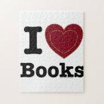 ¡I libros del corazón - libros del amor de I! (Cor Puzzle