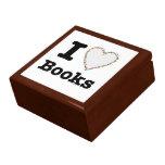 ¡I libros del corazón - libros del amor de I! Remo Caja De Joyas