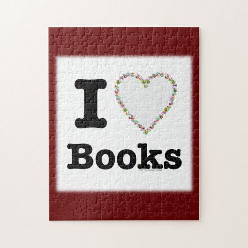 ¡I libros del corazón - libros del amor de I! Remo Puzzles