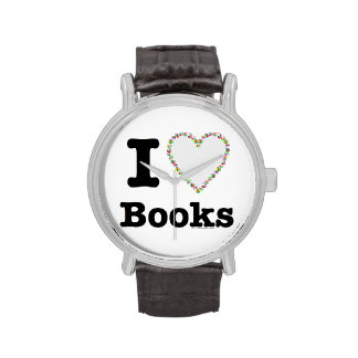 ¡I libros del corazón - libros del amor de I! Remo Relojes De Mano