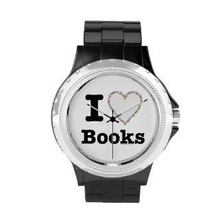 ¡I libros del corazón - libros del amor de I! Remo Reloj