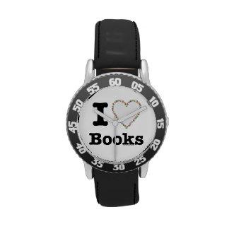 ¡I libros del corazón - libros del amor de I! Remo Relojes
