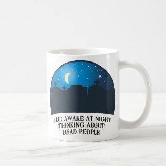 I Lie Awake (2011) Coffee Mug