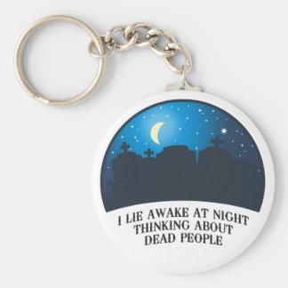 I Lie Awake (2011) Keychain