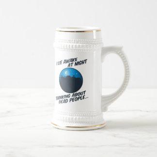 I Lie Awake At Night Beer Stein