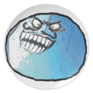 I Lied Comic Meme Party Plates