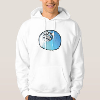 i lied face hoodie