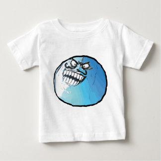 I lied meme rage face baby T-Shirt