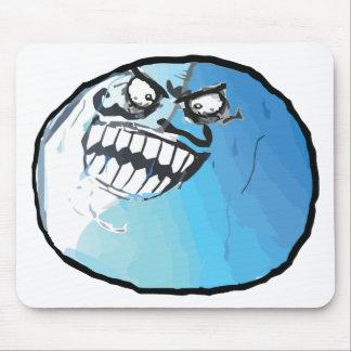 I lied meme rage face mouse pads