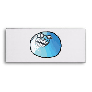 I Lied Rage Face Meme Envelope