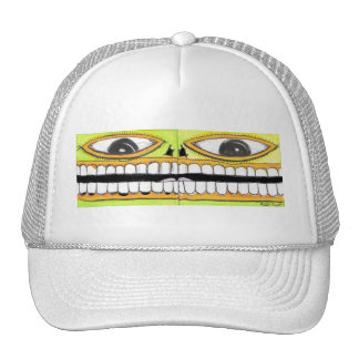 I Like 2 Smile Mesh Hats
