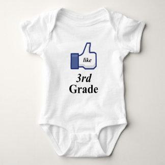I LIKE 3RD GRADE! BABY BODYSUIT