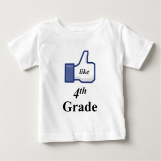 I LIKE 4TH GRADE! BABY T-Shirt