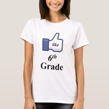 Halloween Themed I LIKE 6TH GRADE! T-Shirt