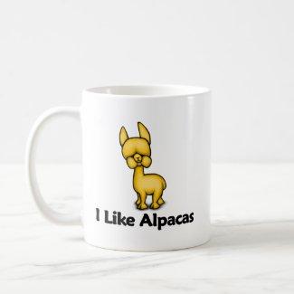 I Like Alpacas mug