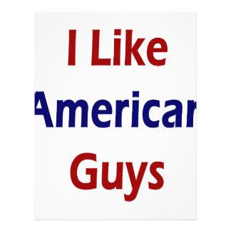 I Like American Guys Full Color Flyer