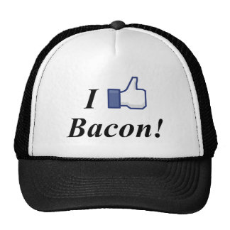 I LIKE BACON! TRUCKER HAT
