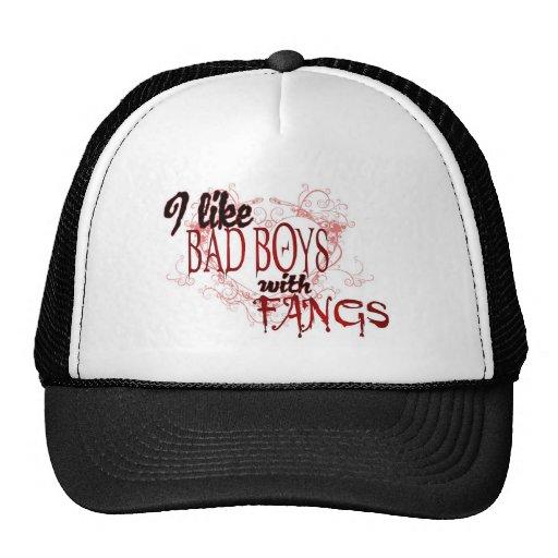 I like Badboys with Fangs Trucker Hat