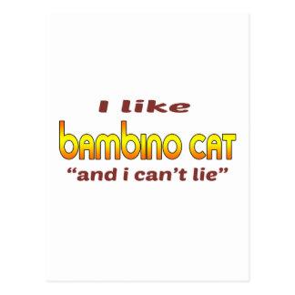 I Like Bambino Cat Postcard